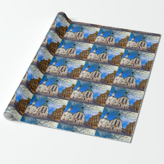 Church of St. Catherine, Banska Stiavnica,Slovakia Wrapping Paper