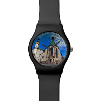 Church of St. Catherine, Banska Stiavnica,Slovakia Wristwatch
