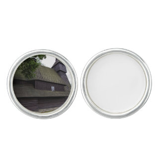 Church of St Francis Assisi - Hervartov - Slovakia Cuff Links