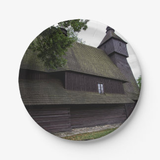 Church of St Francis Assisi - Hervartov - Slovakia Paper Plate