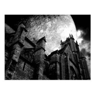 Church of the full moon post card