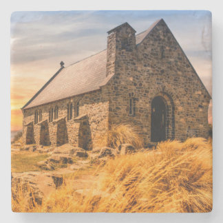 Church of the Good Shepherd - Lake Tekapo Stone Coaster