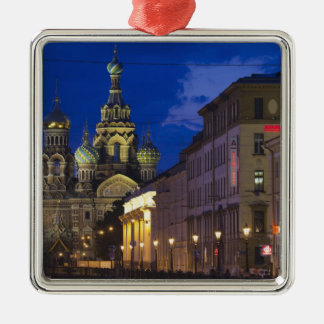 Church of the Saviour of Spilled Blood 3 Metal Ornament