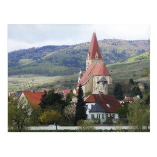 Church on the Danube Postcard