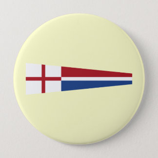 Church Pennant, Netherlands 4 Inch Round Button