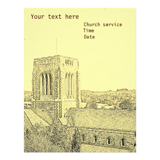 Church Personalized Letterhead