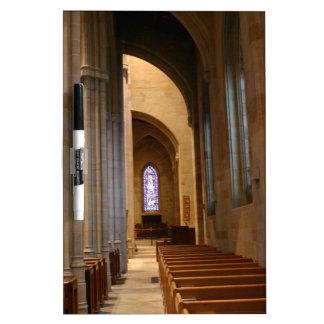 Church Pews Dry-Erase Whiteboards