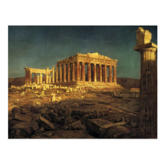 "Church's ""Parthenon"" postcard"