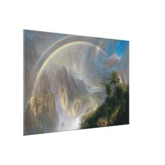"Church's ""Tropics"" canvas print"