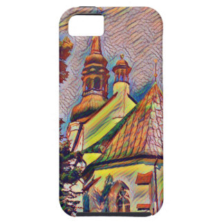 Church Steeples Artistic Photo Manipulation iPhone 5 Cases