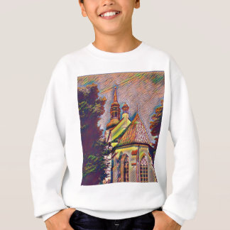 Church Steeples Artistic Photo Manipulation Sweatshirt