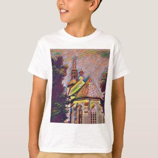 Church Steeples Artistic Photo Manipulation T-Shirt