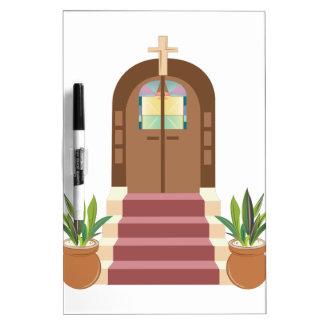 Church Steps Dry Erase Whiteboards