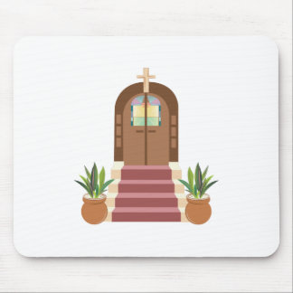 Church Steps Mouse Pad