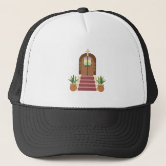 Church Steps Trucker Hat