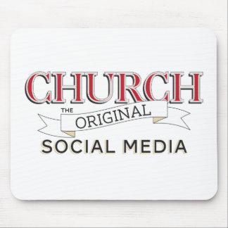 Church - The Original Social Media Mouse Pad