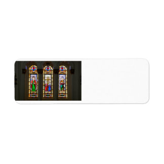 Church Window Return Address Label