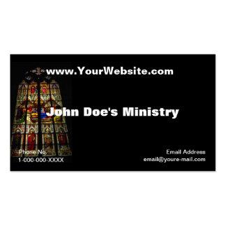 Church Windows Profile Card Business Card Template