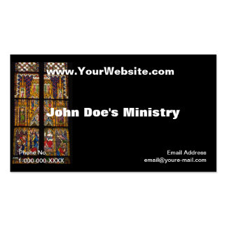 Church Windows Profile Card Business Cards