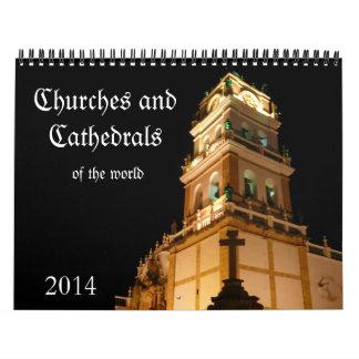 churches 2014 wall calendars