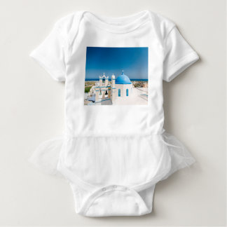 Churches With Blue Roofs Baby Bodysuit
