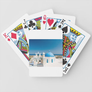 Churches With Blue Roofs Bicycle Playing Cards