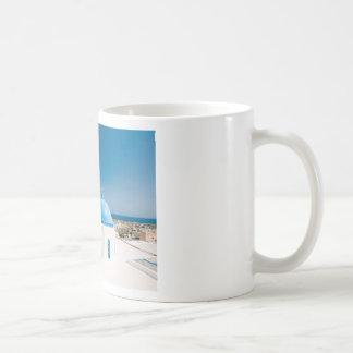 Churches With Blue Roofs Coffee Mug