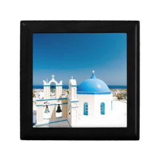 Churches With Blue Roofs Gift Box