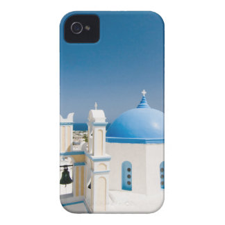 Churches With Blue Roofs iPhone 4 Covers