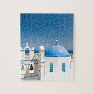 Churches With Blue Roofs Jigsaw Puzzle