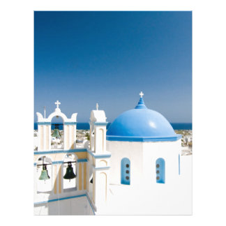 Churches With Blue Roofs Letterhead