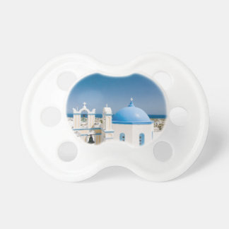 Churches With Blue Roofs Pacifier