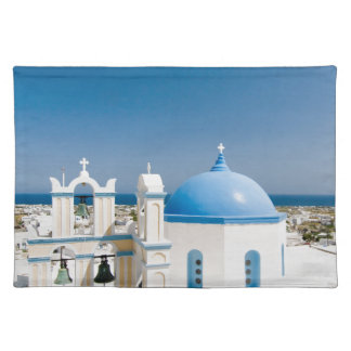 Churches With Blue Roofs Placemat