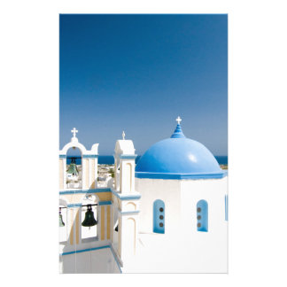 Churches With Blue Roofs Stationery