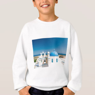 Churches With Blue Roofs Sweatshirt