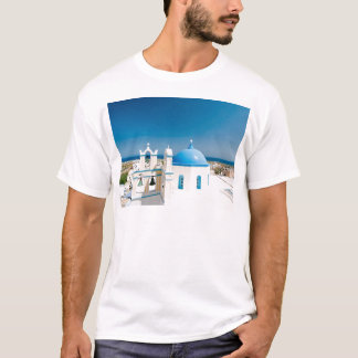 Churches With Blue Roofs T-Shirt