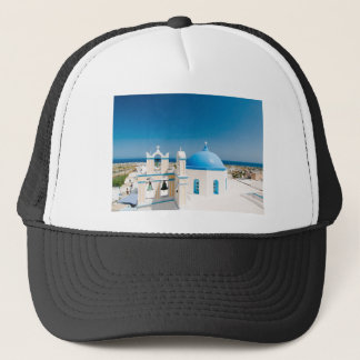 Churches With Blue Roofs Trucker Hat
