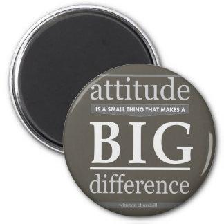 Churchill attitude small big difference magnet