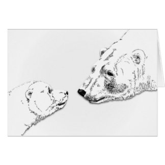 Churchill Canada Card Personalized Polar Bear Card