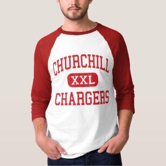 Churchill - Chargers - High - Livonia Michigan T-Shirt