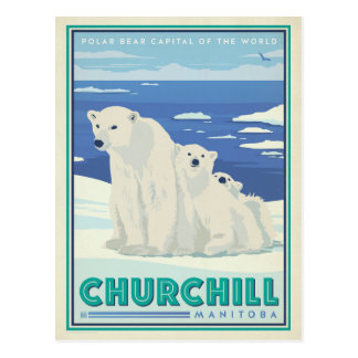 Churchill, Manitoba Cartes Postales