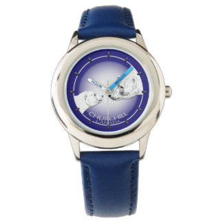 Churchill Polar Bear Watch Souvenir Wrist Watch