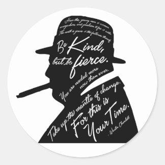 Churchill Sticker