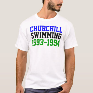 Churchill Swimming 1993 T-Shirt