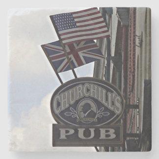 Churchills Pub,Savannah, Georgia Coaster Stone Coaster