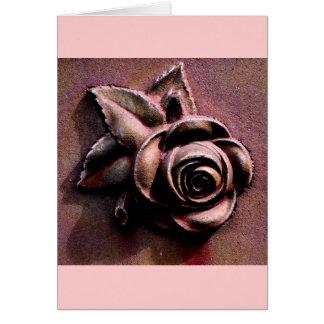 Churchyard Rose Card