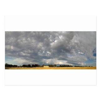 Churning Clouds Postcard