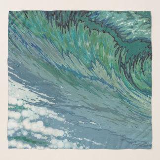 Churning Sea Scarf by Margaret Juul
