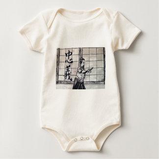 Chuugi Duty and Loyalty by Carter L Shepard Baby Bodysuit