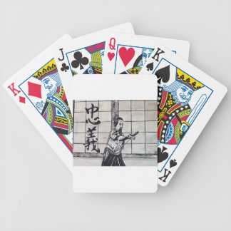 Chuugi Duty and Loyalty by Carter L Shepard Bicycle Playing Cards